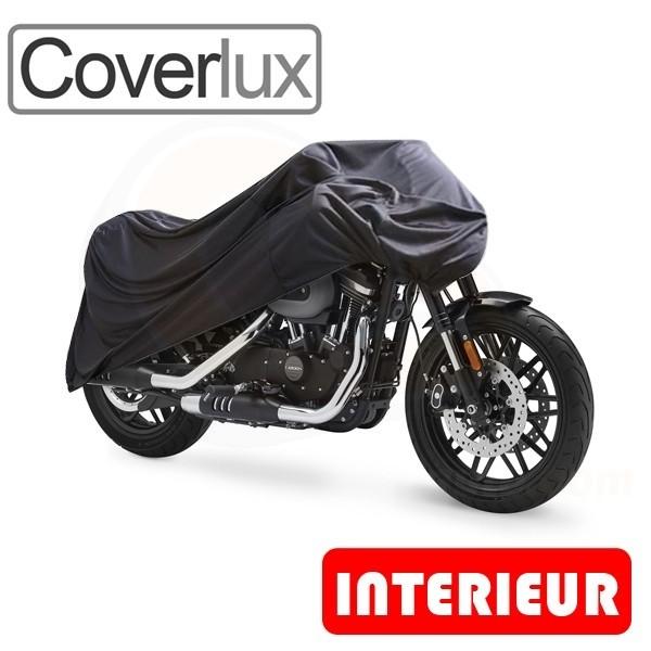 Housse moto antivol bache protection haute qualite pour for Bache moto exterieur
