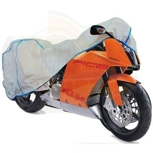 housse moto en tyvek bache protection pour motos interieure exterieure. Black Bedroom Furniture Sets. Home Design Ideas