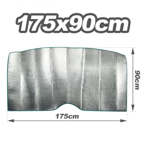 pare soleil interne protection isotherme 175x90cm epaisseur et. Black Bedroom Furniture Sets. Home Design Ideas