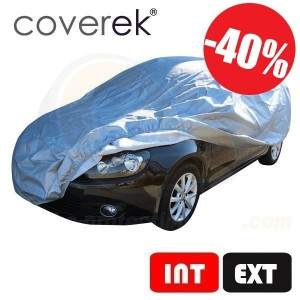 Bâche de protection voiture coverek®, usage mixte