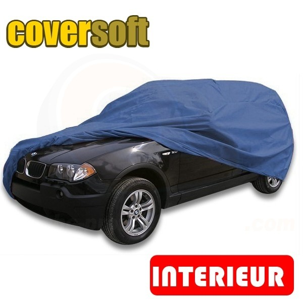 housse voiture bache protection auto pour 4x4 protection interieure semi sur mesure coversoft. Black Bedroom Furniture Sets. Home Design Ideas