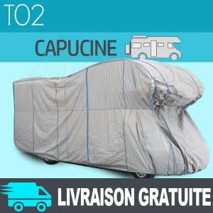 Housse/Bache protection camping-car capucine Tyvek® TOP COVER - T02