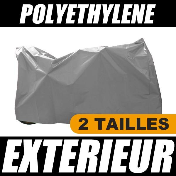 Housse de protection pour velo bache de protection exterieure polyethylene pour votre bicyclette - Bache protection table exterieure ...