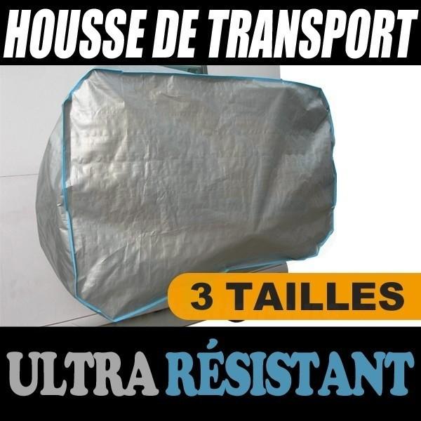 Housse de transport bache protection transport pour velo for Housse pour velo
