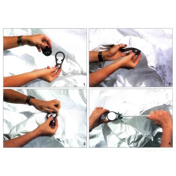 Oeillets nylon accessoire fixation housse protection for Accessoire bache