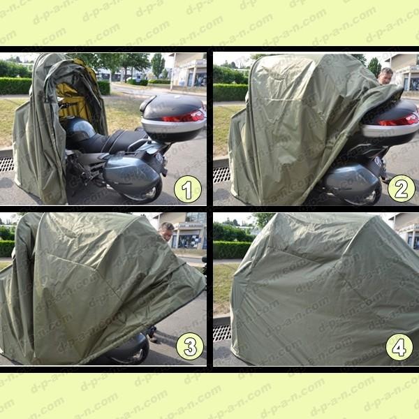 Abri minipark beeper pour protection motos et scooters for Bache moto exterieur
