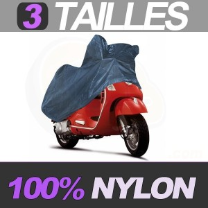 housse moto en nylon bache protection pour motos et scooters. Black Bedroom Furniture Sets. Home Design Ideas