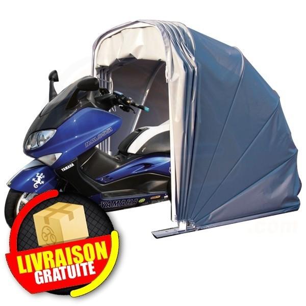 Abri motobox escargot pour protection motos et scooters for Bache moto exterieur