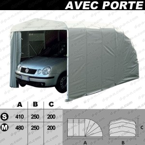 abri autobox eco garage avec porte pour protection de voitures 1 volet. Black Bedroom Furniture Sets. Home Design Ideas