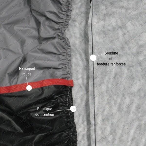 housse protection moto pas cher bache moto protection exterieure semi sur mesure luxor. Black Bedroom Furniture Sets. Home Design Ideas