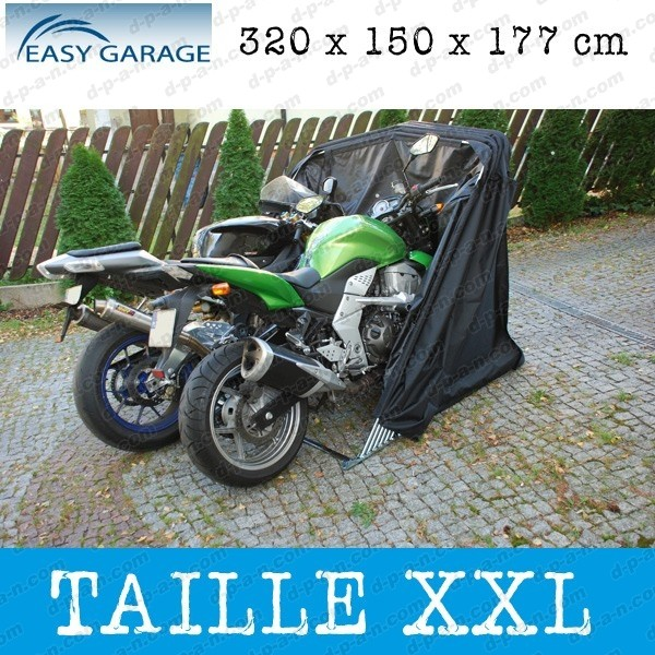 garage minipark abri easy garage garage souple pour protection motos scooters quads xxl. Black Bedroom Furniture Sets. Home Design Ideas