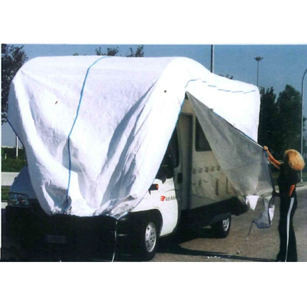 housse camping car bache protection pour camping car protection interieure exterieure tyvek. Black Bedroom Furniture Sets. Home Design Ideas