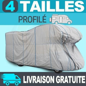 Housse/Bache protection camping-car profilé Tyvek® TOP COVER