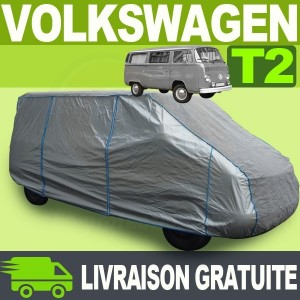 Housse/Bache protection Volkswagen Combi T2 Bay Window Tyvek® TOP COVER