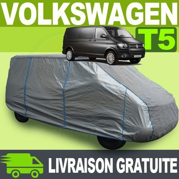 Housse bache protection volkswagen combi transporter t5 for Housse siege transporter t5
