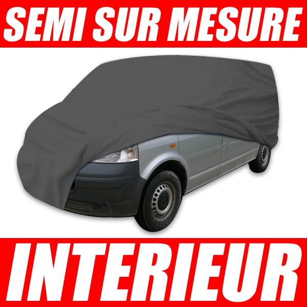 housse voiture bache haute qualite pour combis vans utilitaires protection interieure semi. Black Bedroom Furniture Sets. Home Design Ideas
