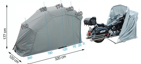 dimensions du Easy Garage