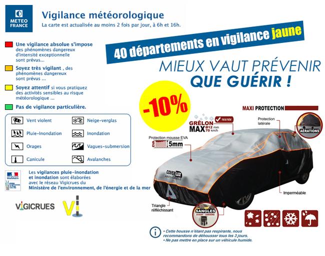 -10% sur les housses Coverlux® Anti-Grêle !